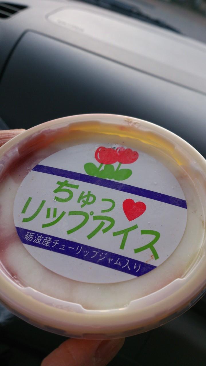砺波 道の駅 ちゅっ♡リップアイス