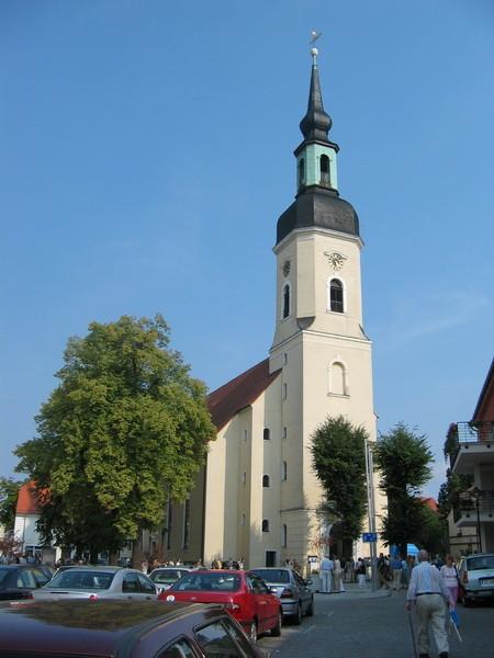 Nikolaikirche in Lübbenau/Spreewald