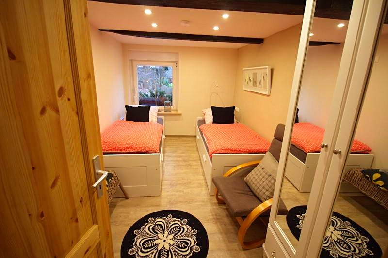 Spreewald Ferienwohnung Wendland Schlafzimmer 2 Foto 2