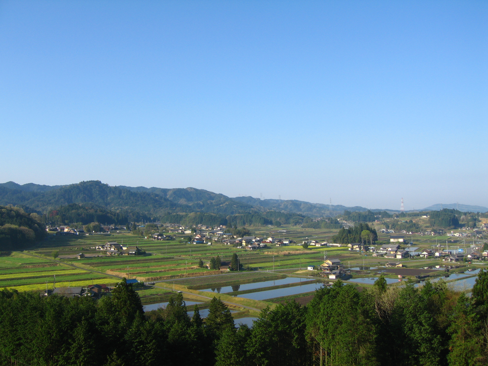 農村景観日本一の地