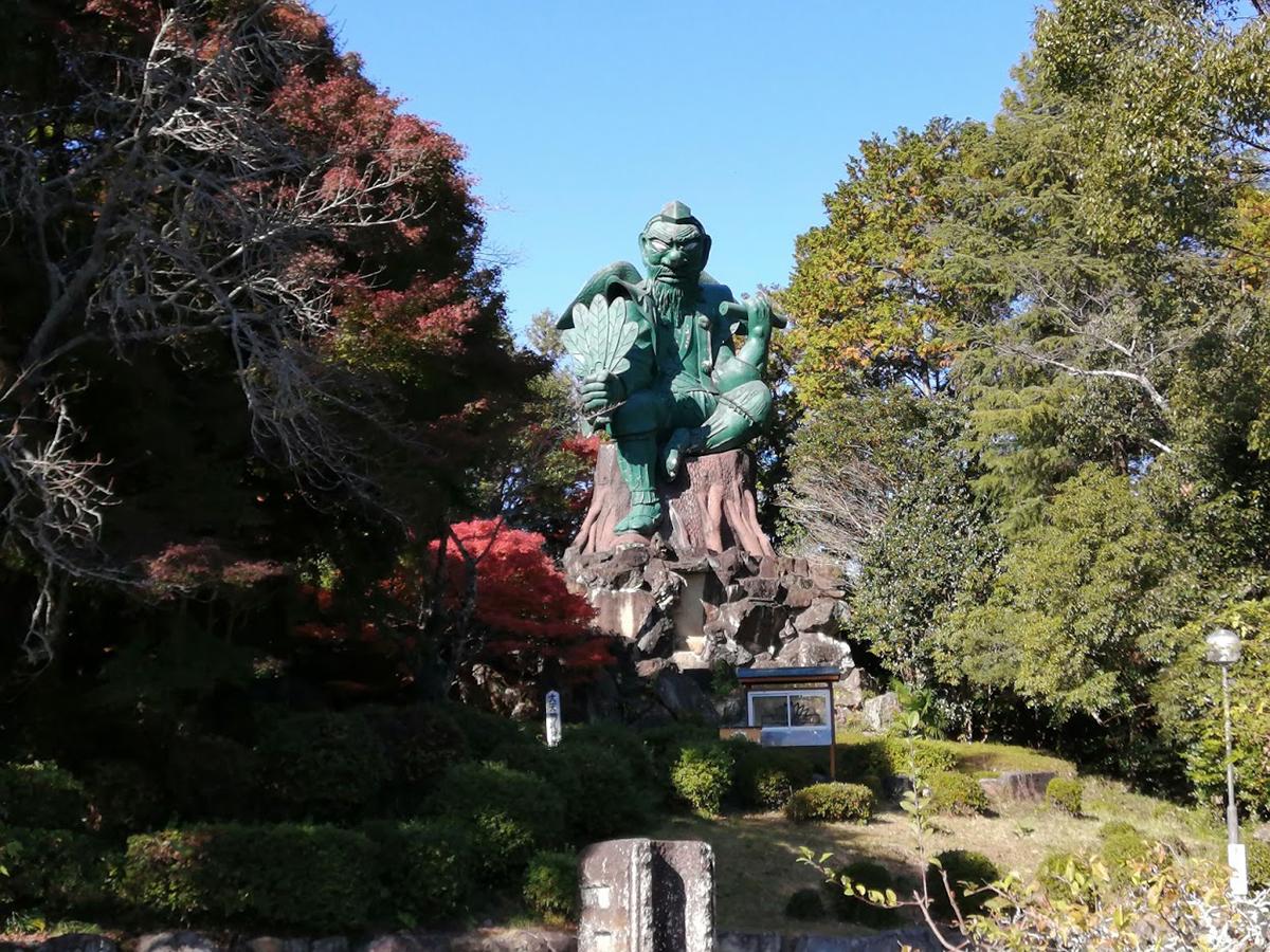 古井の天狗山