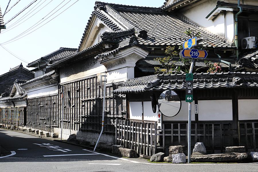 赤坂宿 矢橋家住宅