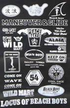 山北さんが創作した数々のブランドロゴ
