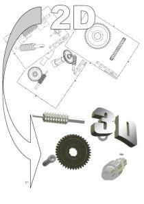 Modélisation 3D de vos plans 2D