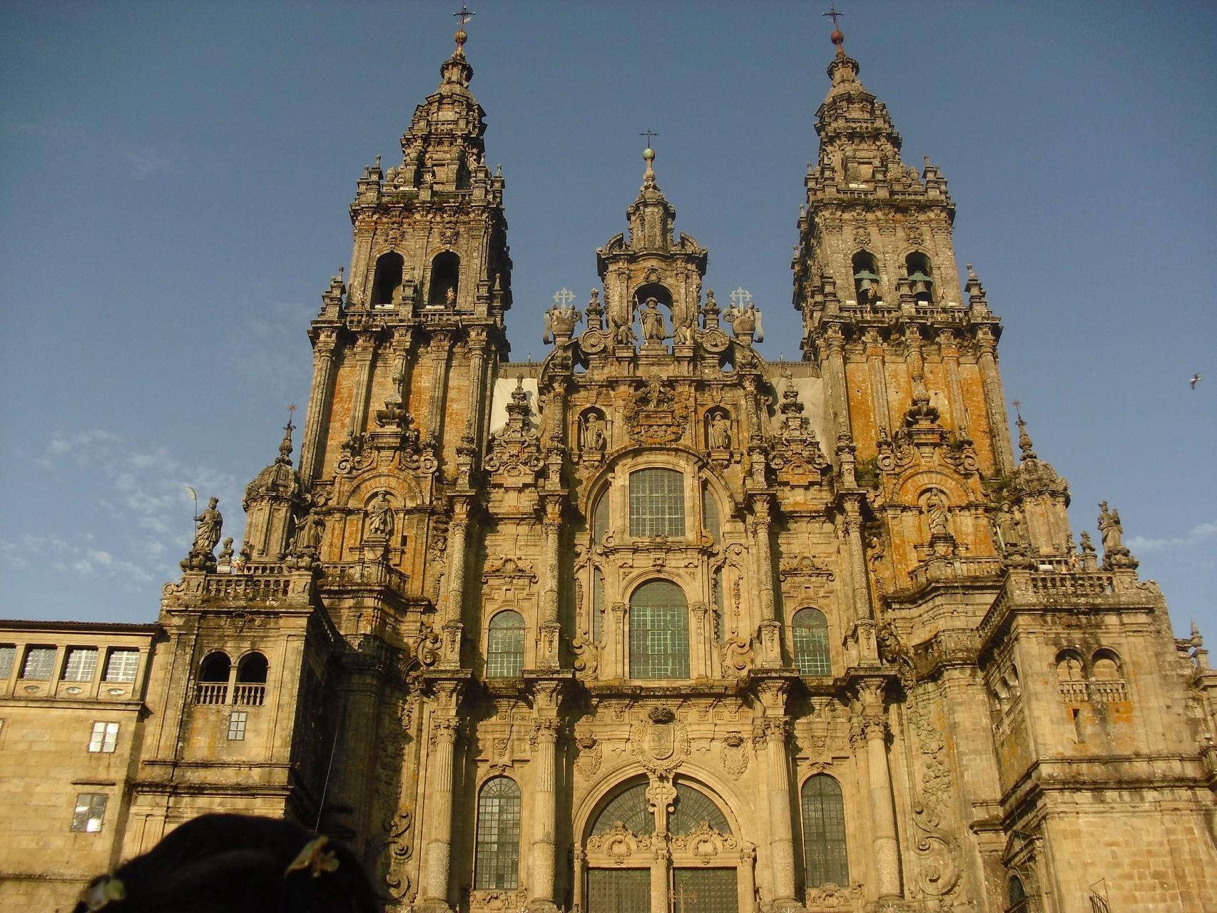 La cathédrale de Saint Jacques de Compostelle