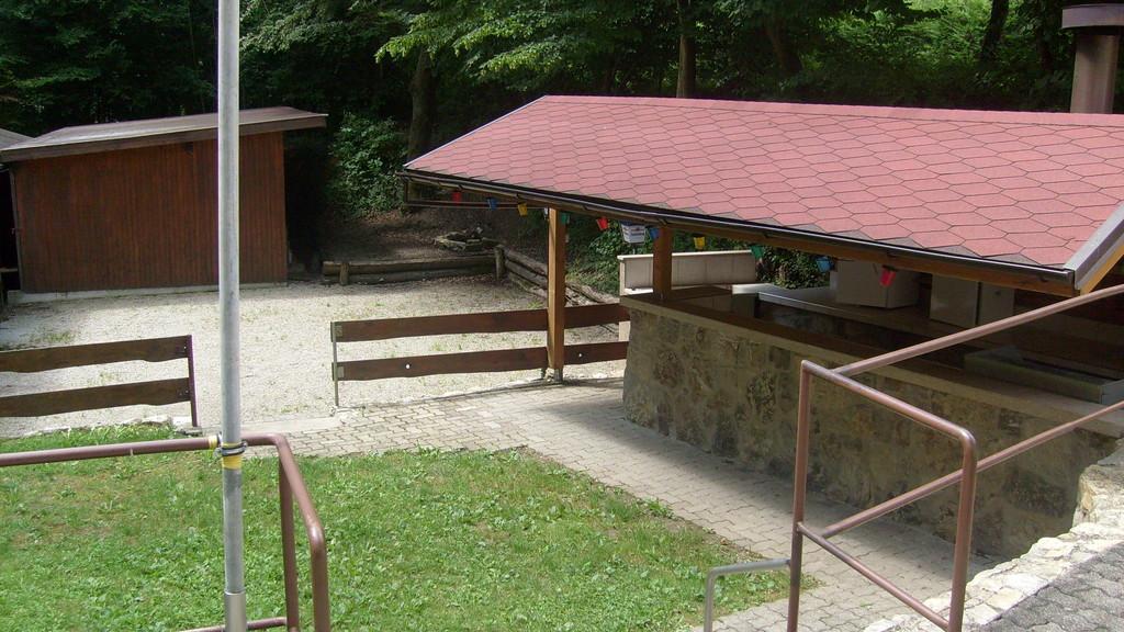 Festplatz mit Grillstation