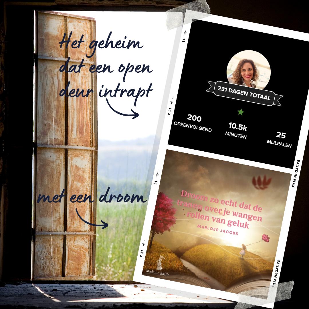 Het geheim dat een open deur intrapt