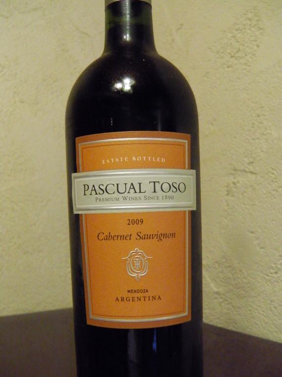 パスカルトソ  アルゼンチン  グラス¥735  フルボトル¥3500