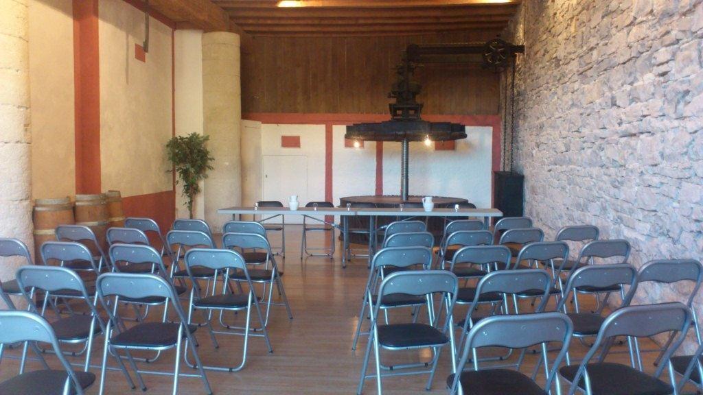 La Salle du Pressoir, théâtre.