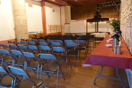 La Salle du Vieux Pressoir, conférence