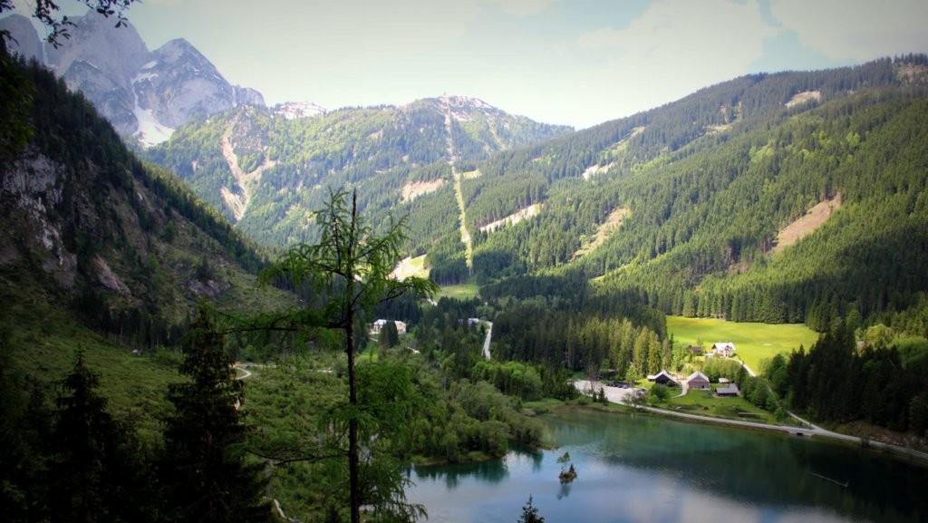 Aussicht vom Klettersteig