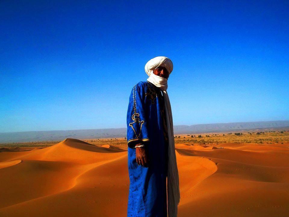 Voyage et trek dans le désert Marocain