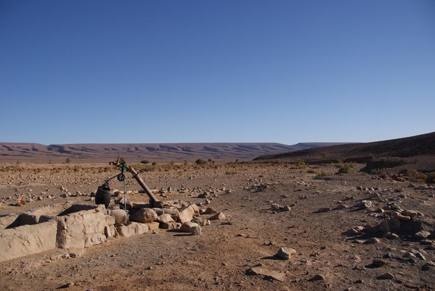 Maroc désert voyage à pied