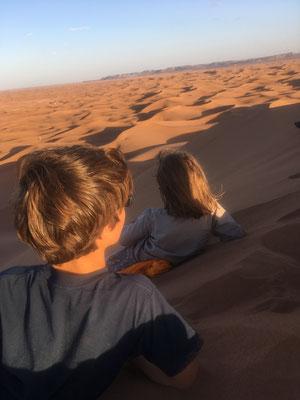 voyage en famille maroc désert