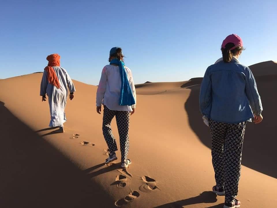 Jeûne désert Maroc