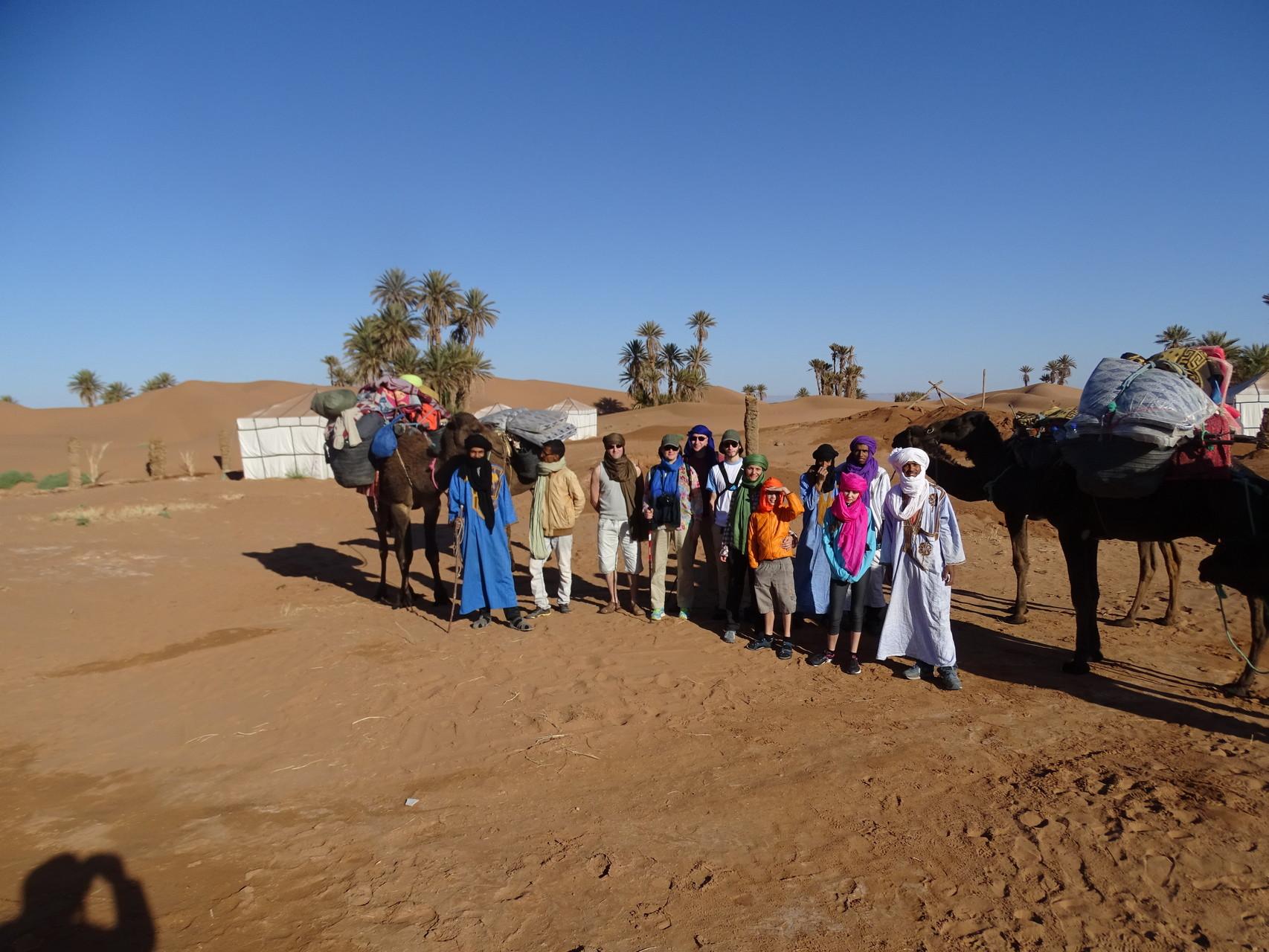 Maroc désert randonnée