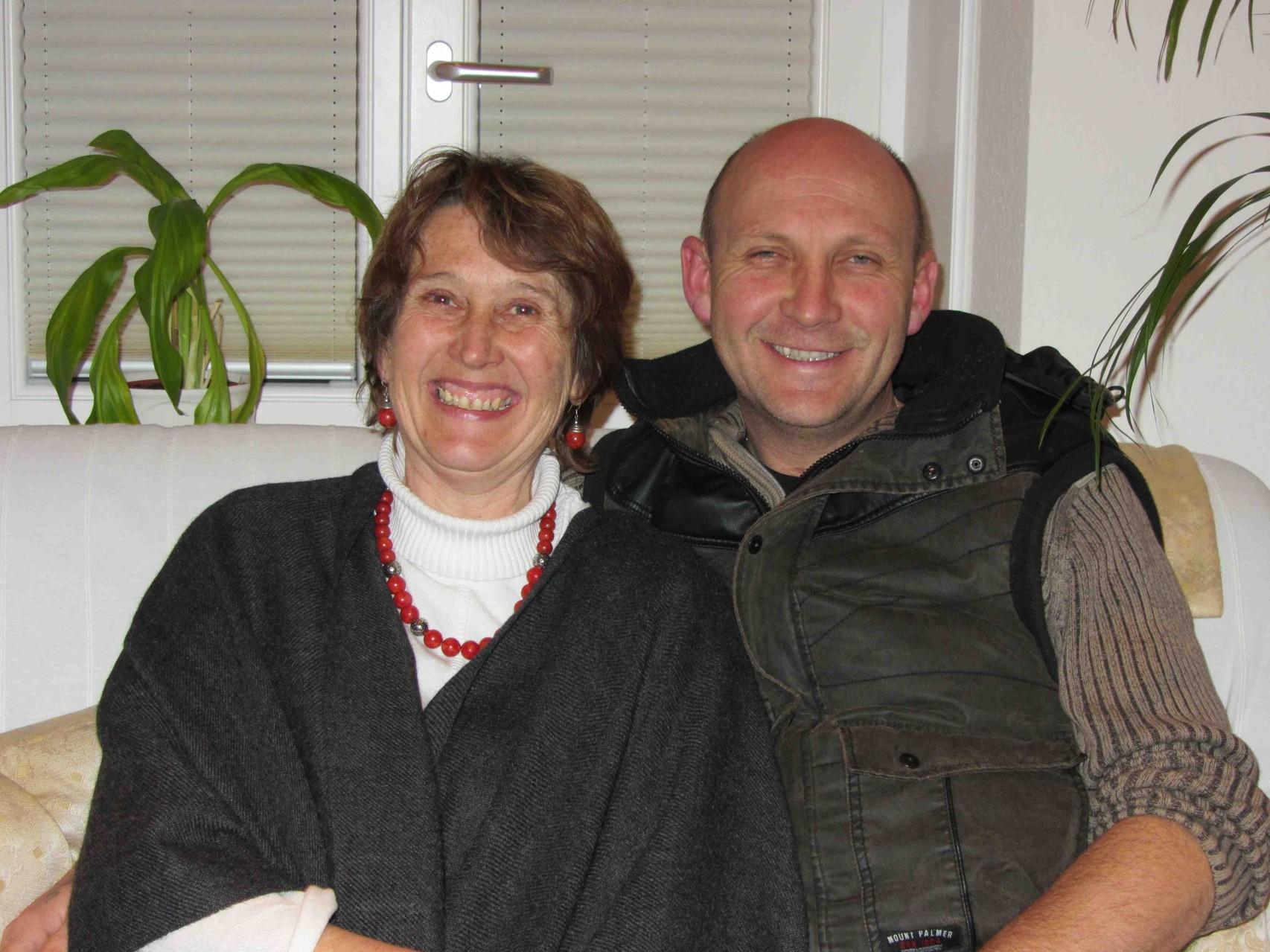 Das Leitungsteam, Maria & Peter Biber