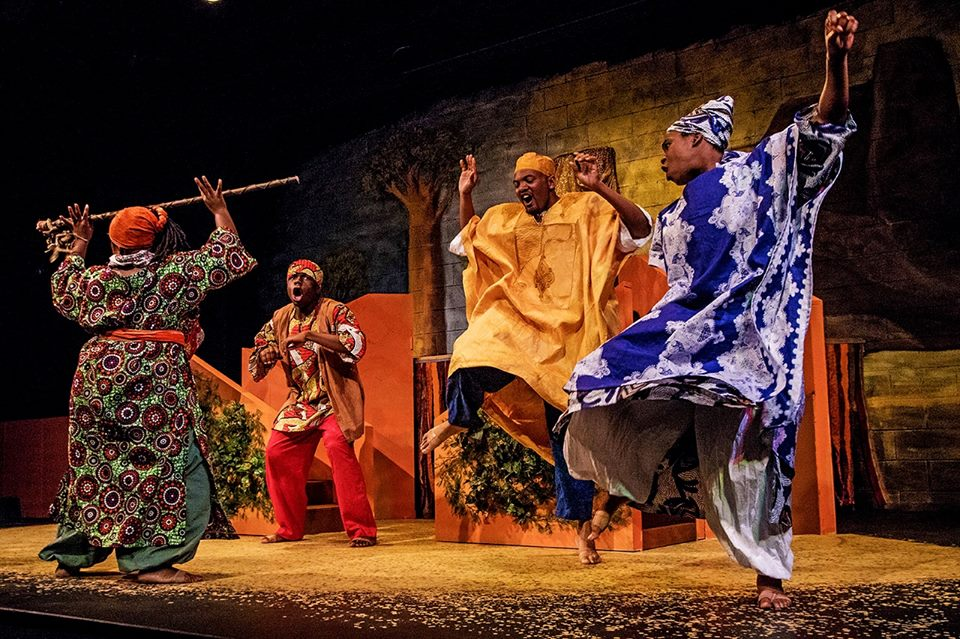 """Sundiata"" at Talespinner Children's Theatre"