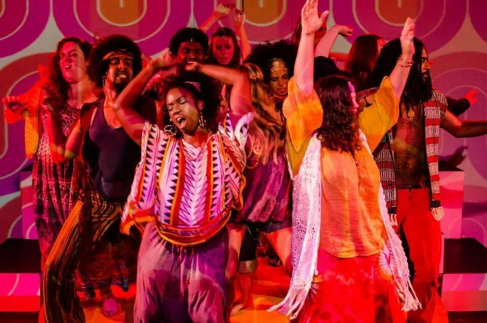 """""""Hair"""" at Blank Canvas Theatre"""