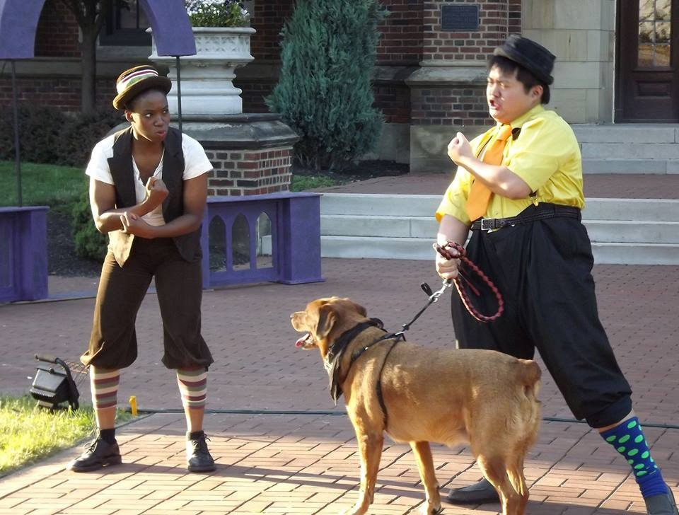 """""""Two Gentlemen of Verona"""" at the Cleveland Shakespeare Festival"""