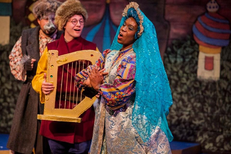 """Prince Ivan and the Firebird"" at Talespinner Children's Theatre"
