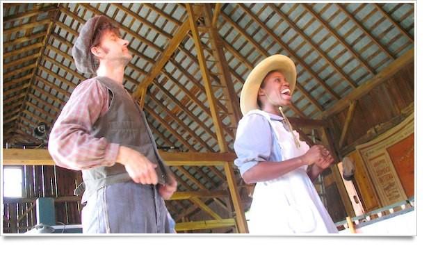 """Singin on the Ohio"" at the Lantern Theatre"