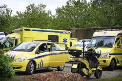 ambulance pour tranporter de la cocaine vers l'angletaire