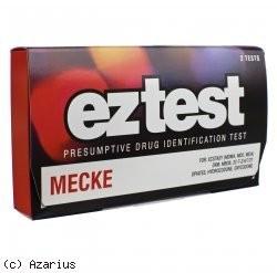 "testeur drogues ""Mecke"""