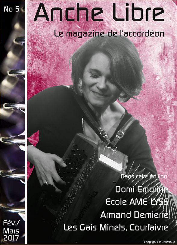 Artikel über AME LYSS (Seiten 6-8) in französisch