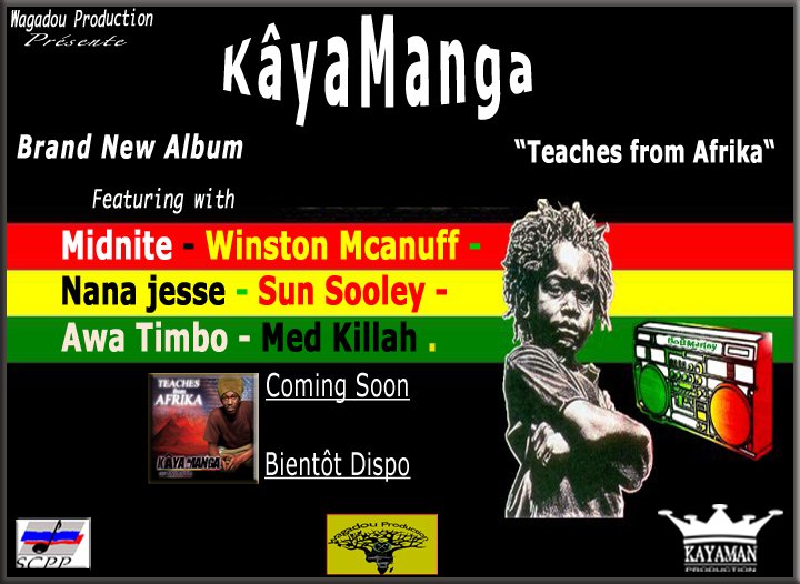 "Brand New Album ""Teaches from Afrika"""