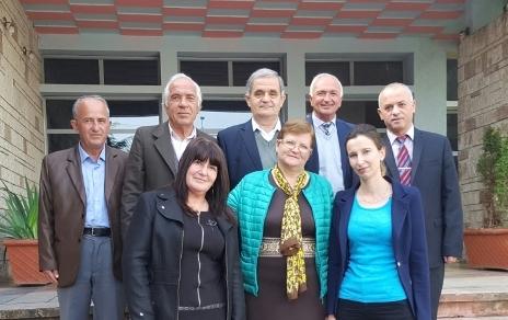 """Anëtarët themelues të Klubit Letrar """"Pjetêr Budi"""""""