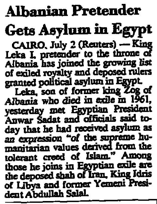 Burimi : International Herald Tribune, e enjte, 3 korrik 1980, f.2