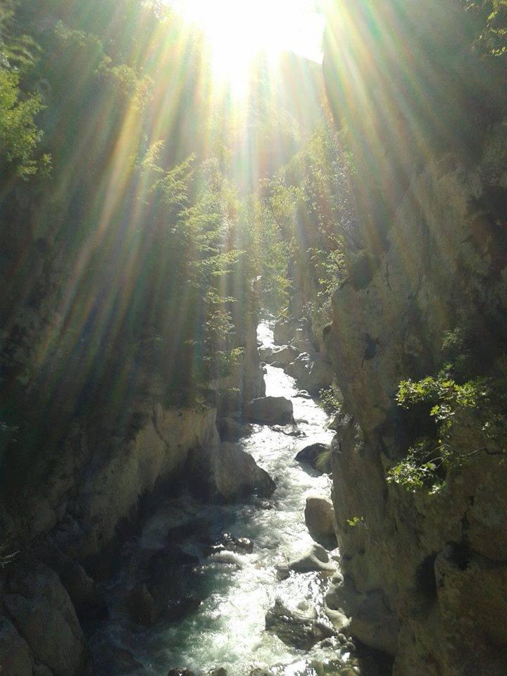 Kanioni i Lumit Urakë (fragment)