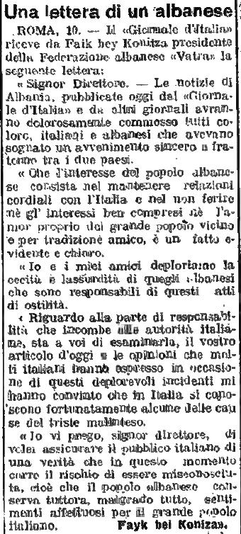 Burimi : Giornale di Udine, 11 qershor 1920, ballinë