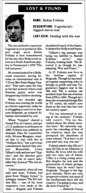 Burimi : Variety, 14 prill 1993, f.75