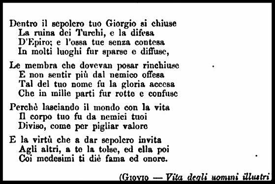 """Le Istorie Albanesi"", (1886) – Francesco Tajani / Burimi : Internet Archive"