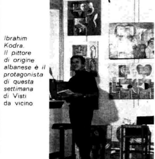 """Burimi : Ibrahim Kodra. Piktori me origjinë shqiptare është protagonist i kësaj jave të """"Të parë nga afër – Visti da vicino"""". – Radiocorriere, 27 tetor 1979, f.150"""