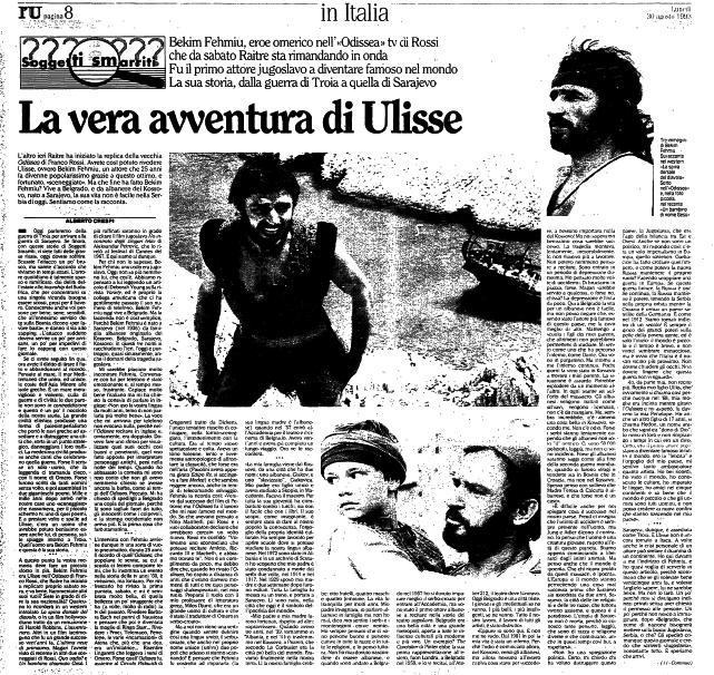L'Unità, e hënë, 30 gusht 1993, fq.8
