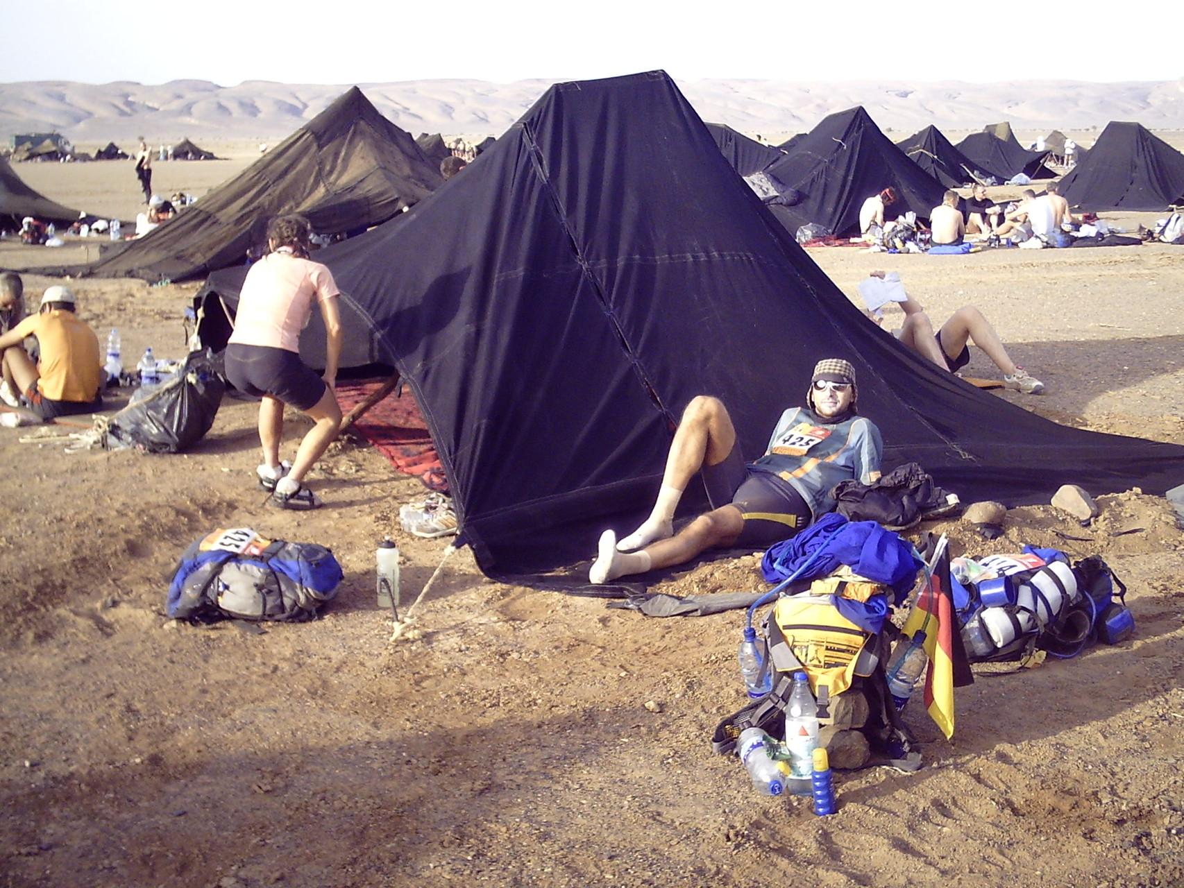 7 Tage / 6 Etappen / ca. 240 Kilometer Marathon des Sables 2006
