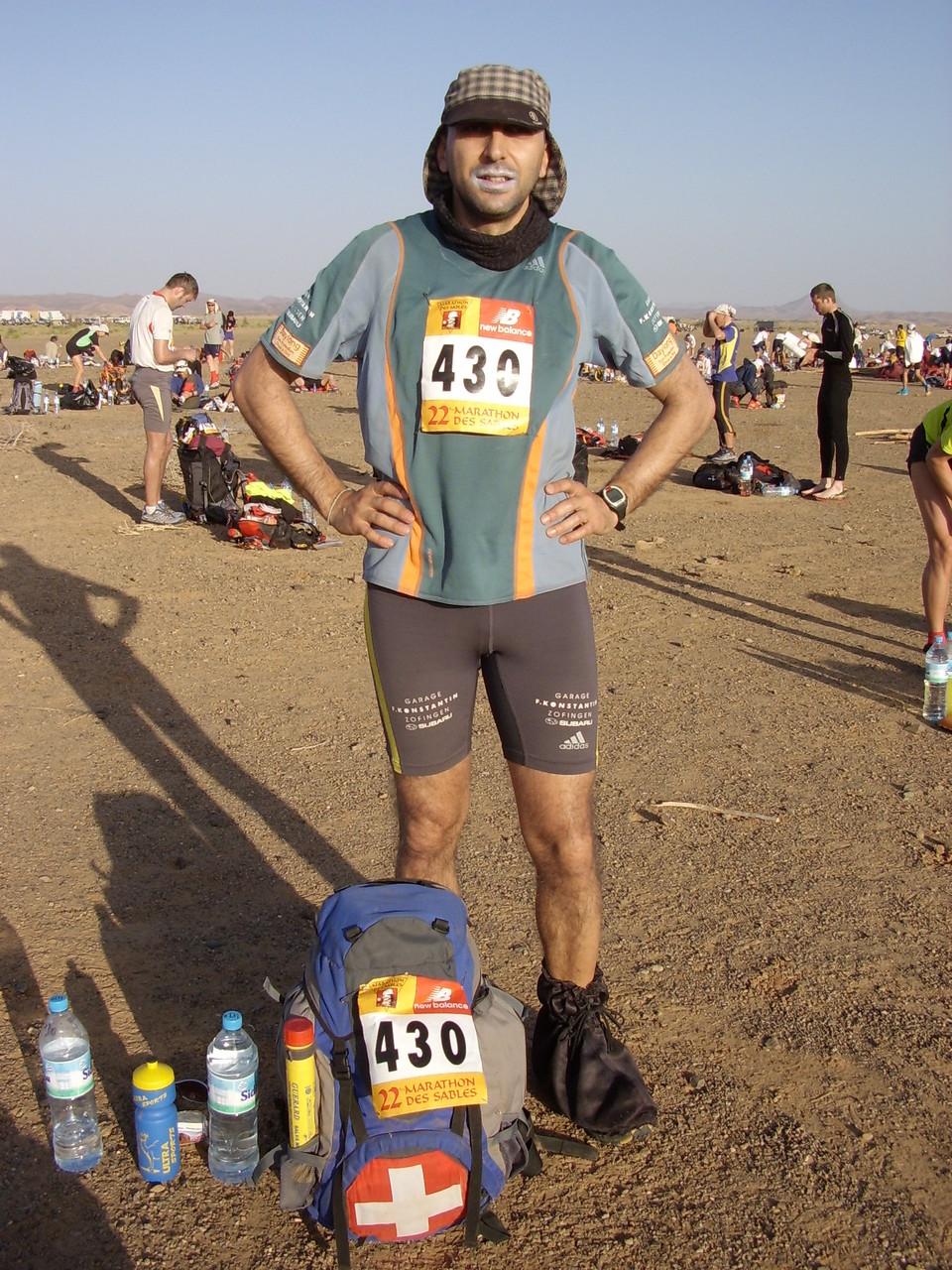 7 Tage / 6 Etappen / ca. 240 Kilometer Marathon des Sables 2007