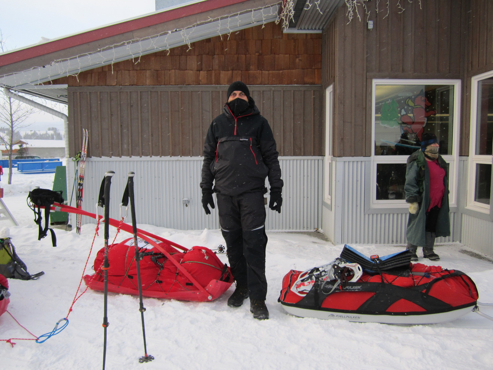 430 Meilen Yukon Arctic Ultra 2015 (Aufgabe nach 20 Km)