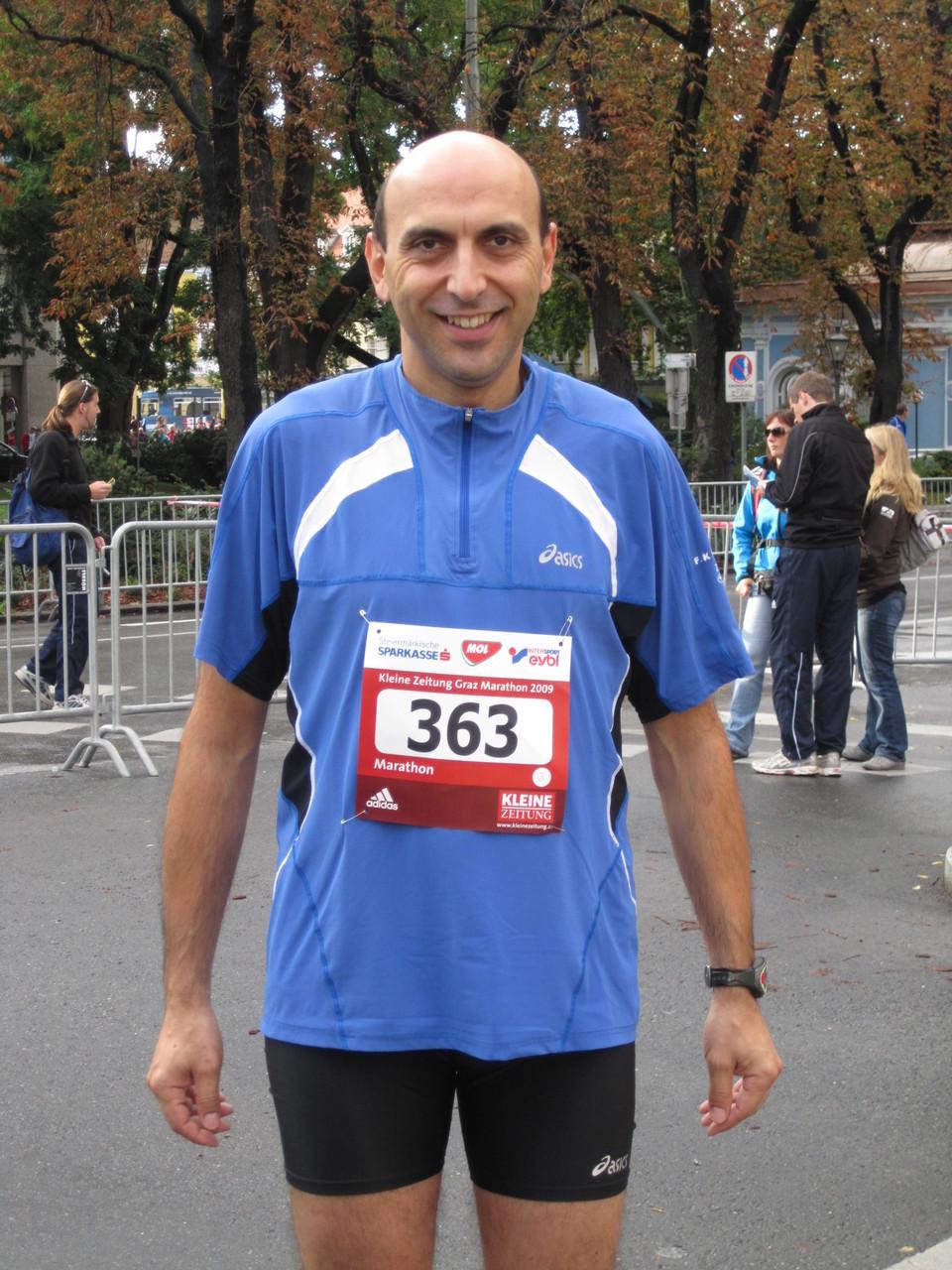 Marathon A-Graz 2009 (Aufgabe nach 25 Km)