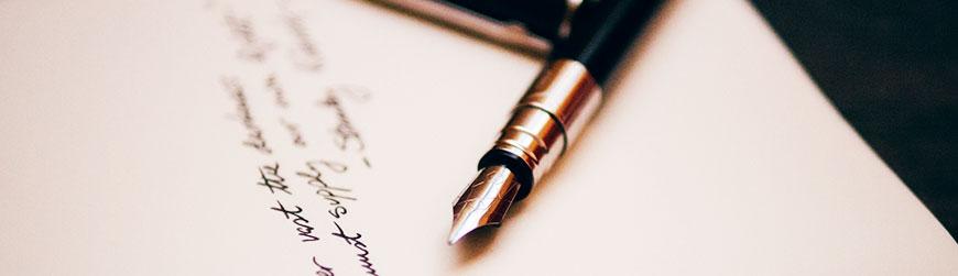 """""""Schreiben heißt: sich selber lesen."""" (Max Frisch)"""