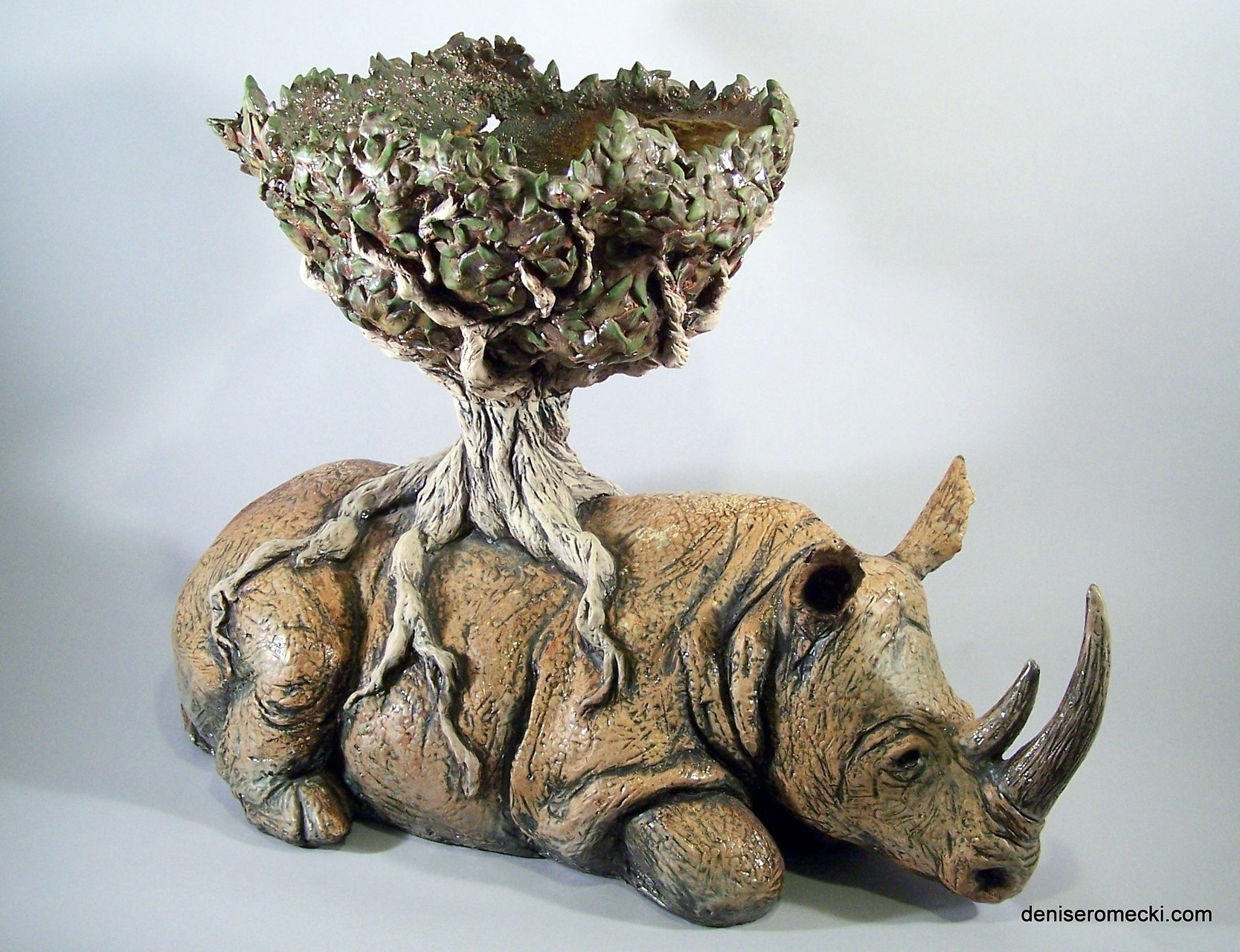 Last Sanctuary Denise Romecki Ceramic Sculpture