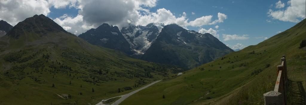 Le glacier de l'Hommet, Hautes-Alpes - France