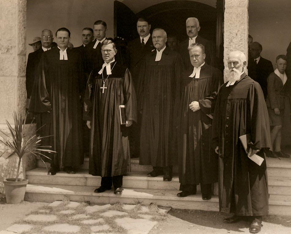 Gruppenbild zur 175-Jahr Feier 1936