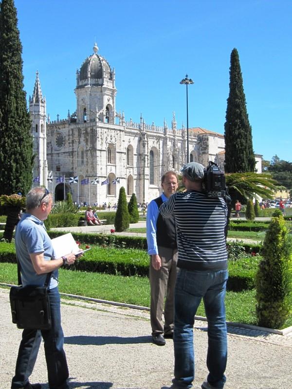 Dreh des Trailers in Belém