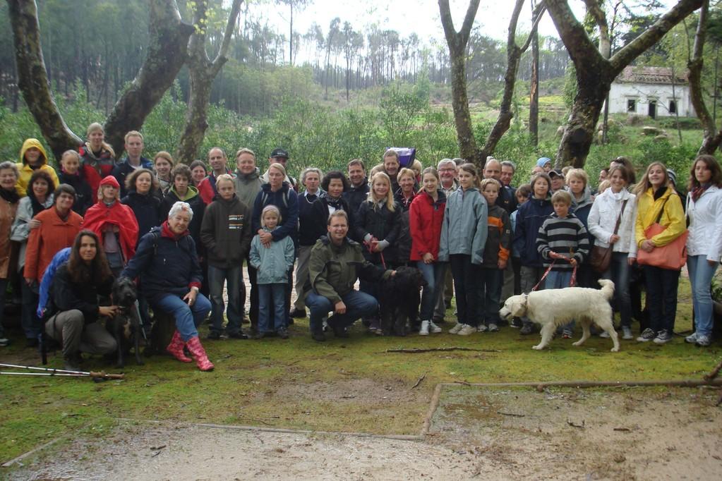 Gemeindewanderung mit den Konfirmandenfamilien