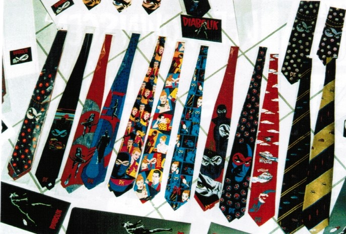 Cravatte di Diabolik di Tino Cosma