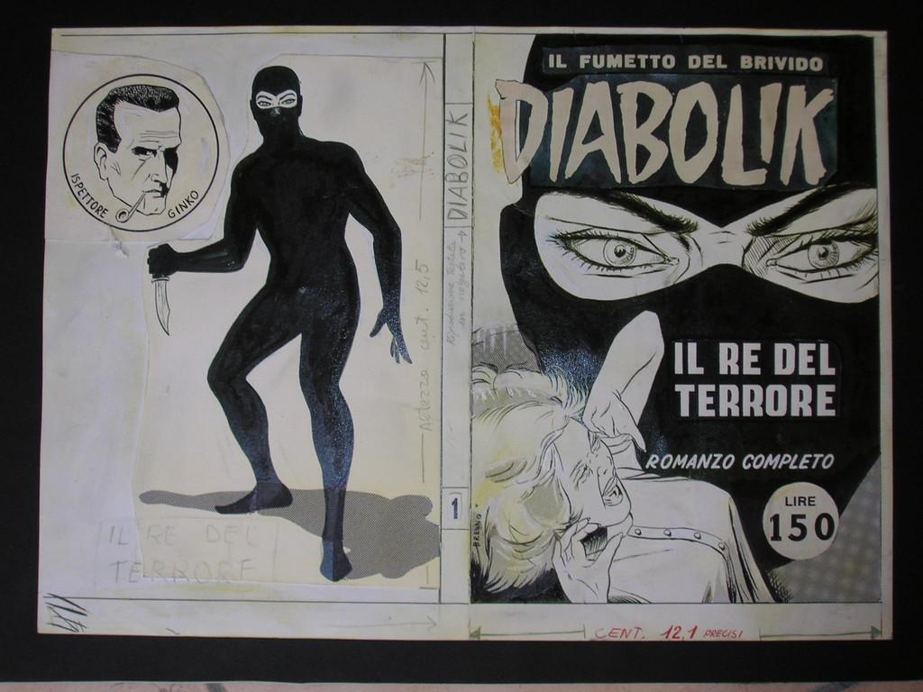 La copertina del numero uno del 1962